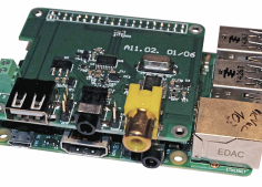 Combo Audio DAC dla Raspberry PI