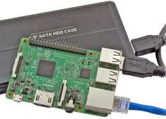 Domowy serwer Network Attached Storage na Raspberry Pi